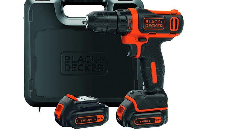 Black + Decker BDCDD12KB-QW perceuse-visseuse